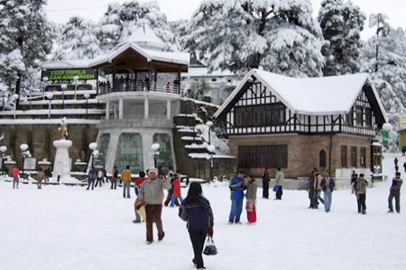 Chandigarh to Shimla honeymoon tour packages