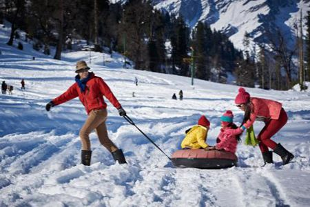 Raipur to Shimla honeymoon tour packages