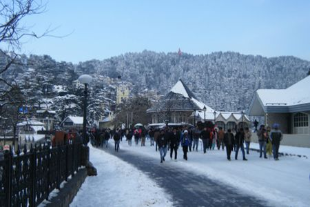 Trichy to Shimla honeymoon tour packages