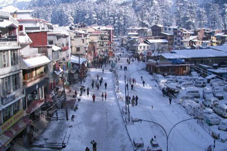 Vadodara to Shimla honeymoon tour packages